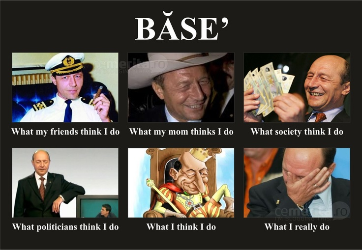 What Basescu does