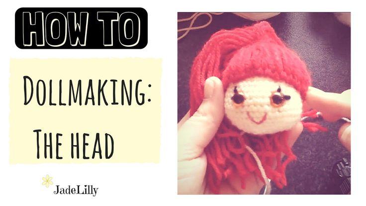 Lily Doll Crochet Tutorial - #1: Head and Hair - Jade Lilly Crochet
