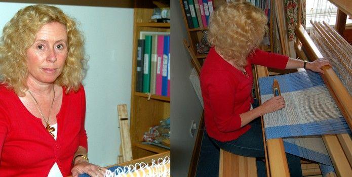 Julia Complin textiles - Meet Your Maker at St Andrews Museum