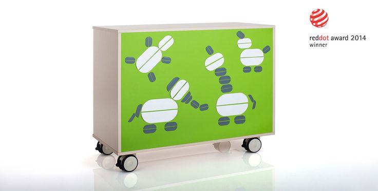 Kindergarten furniture, children furniture Fantasy, mobile cabinets