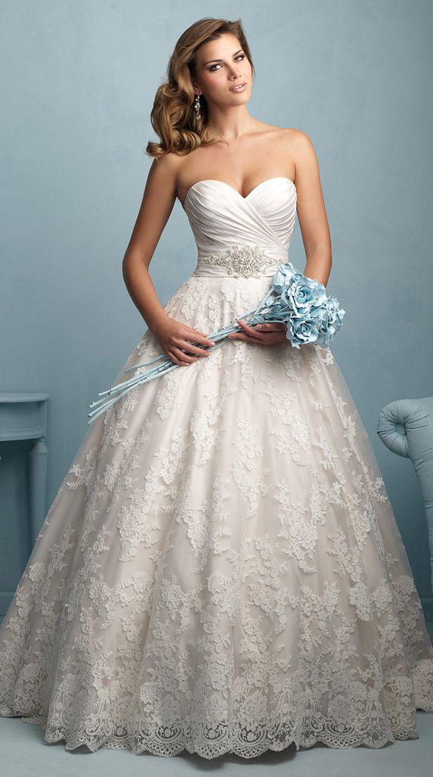 Preciosos Vestidos de Novia por Allure Bridals para Primavera 2015 - Vestidos Mania