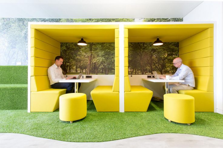 Modular meeting pods - the optimum solution for a quiet space within a buzz to promote and facilitate teamwork in your workplace. Customize to your design.