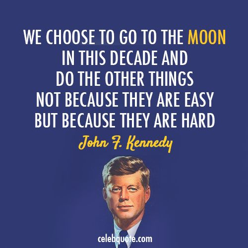 "JFK also said, I believe, ""Do not pray for life to be easy. Pray to be stronger men."" #JFK #dontgetcomplacent"