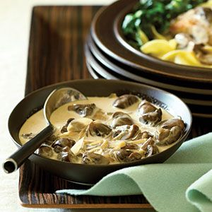 Cooking with coffee | Coffee mushroom cream sauce | Sunset.com