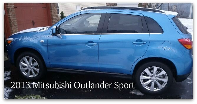 The 2013 Mitsubishi Outlander Sport for Moms on the Go on http://www.5minutesformom.com