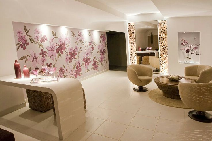 Sala de espera e café SpA Pinterest Spa, Clinic design and