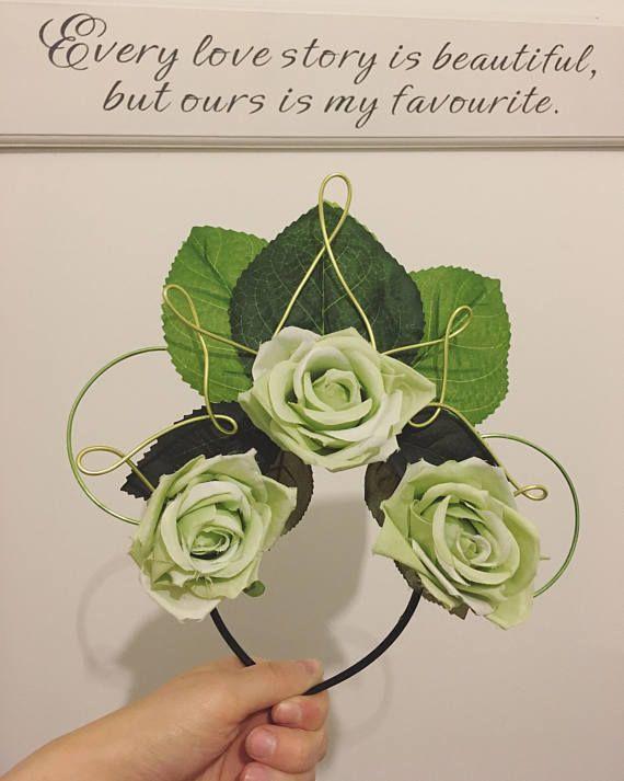 Prinzessin Tiana inspiriert Blumendraht Mickey Ohren
