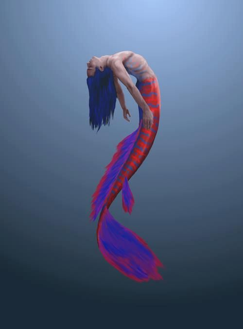 This merman(or use it for a  mermaid) tail is amazing. o.o I love it!