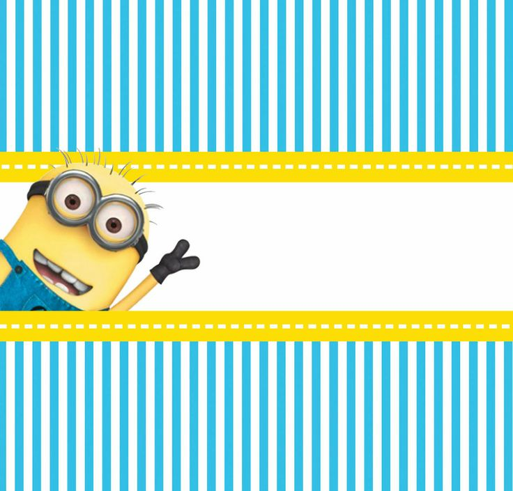 Despicable Me Free Printable Candy Bar Labels. Thanks a Minion for coming to ------ 's # Birthday party