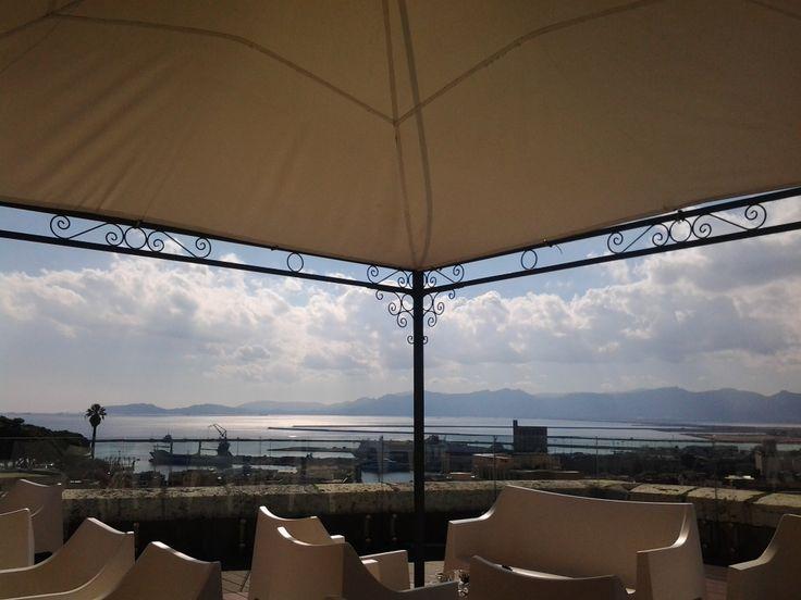 Cagliari view from Castello...in October