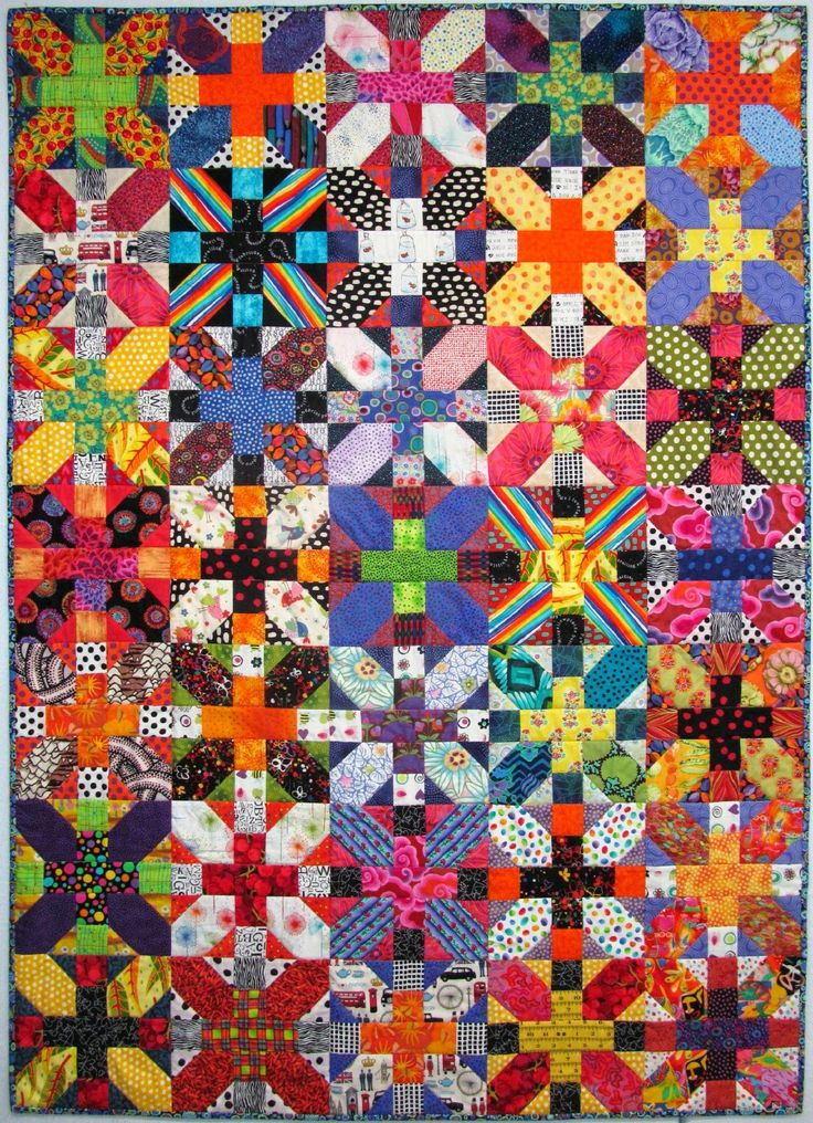 colorful the best diamond quilt baby pattern