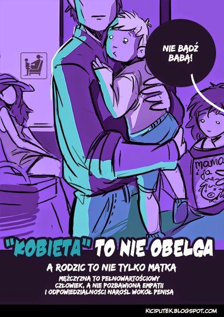 """Kącik Kiciputka -""""Kobieta to nie obelga""""  kiciputek.blogspot.com"""