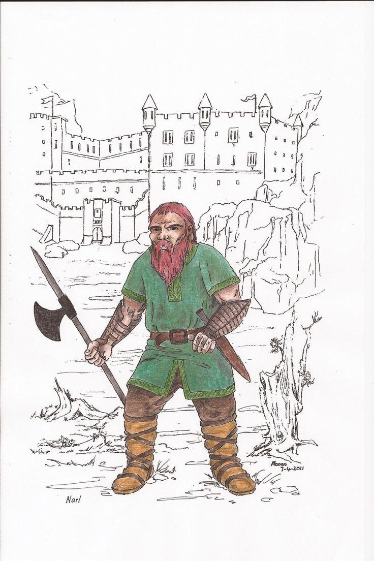 Narl, from the book SIRION, by Ivano Massari .http://www.gypsyshadow.com/IvanoMassari.html#top