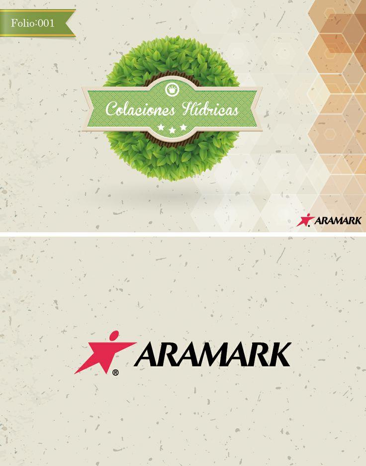 Tarjeta Almuerzos Aramark. Diseño.