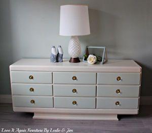 HPL Furniture 9 drawer dresser