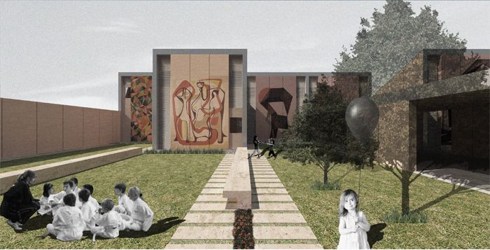WONDERLAD - competition entry | home for suffering children - Catania | dpaSTUDIO