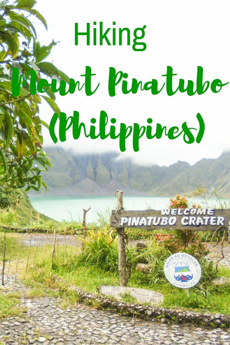 Hiking Mount Pinatubo, Philippines