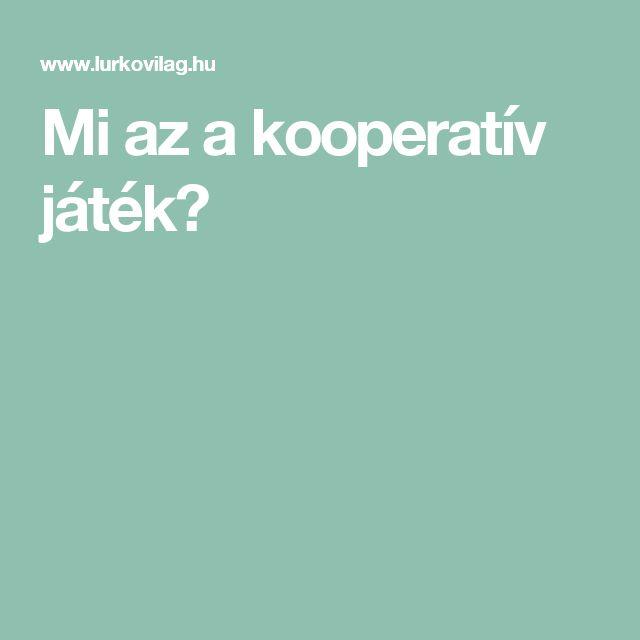 Mi az a kooperatív játék?
