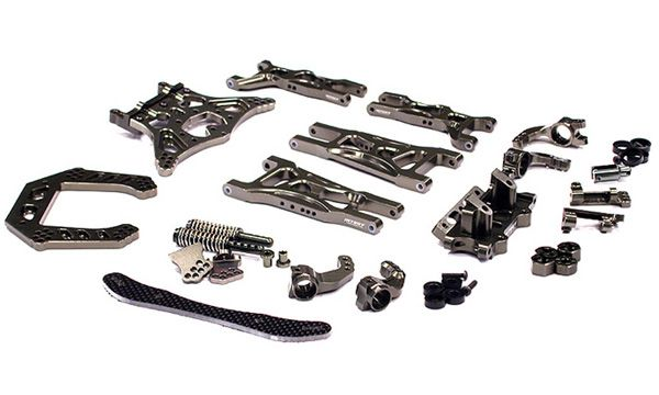 Evolution Upgrade Conversion Kit for Traxxas Rustler (Electric Version) for R/C or RC - Team Integy
