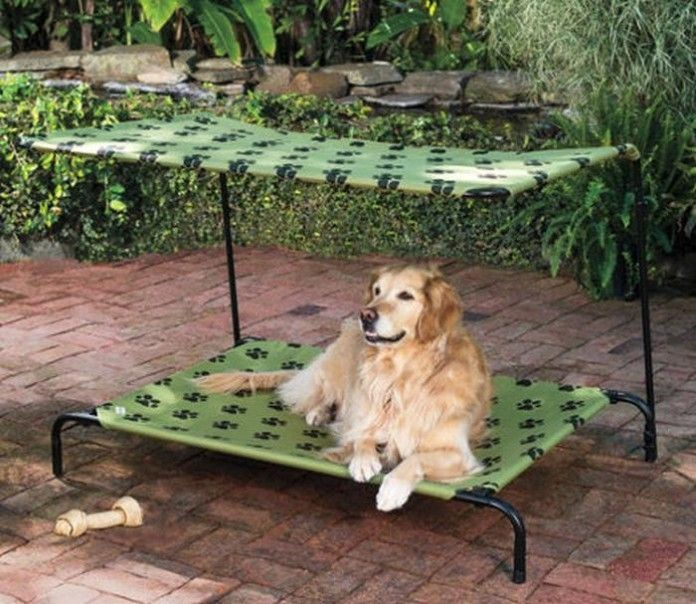 20 Cool Outdoor Dog Beds That Are Also Comfortable Outdoor Dog
