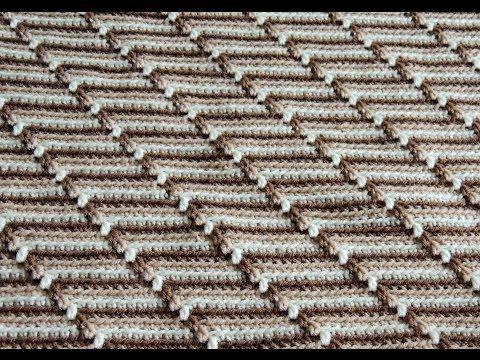 Tal y como su nombre lo indica, un Maravilloso Punto en Crochet., el Groovyghan o Punto Maravilloso.