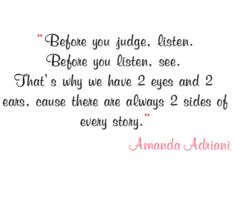 the 25 best 2 sides to every story quotes ideas on pinterest