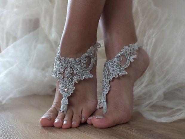 unique. silver sandals. smoked unique Wedding sandals, lace sandals, hand sewing sandals, wedding gown, off, wedding bride, sandals