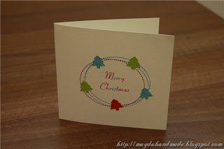 Felicitare de Crăciun MH026 / Christmas Greeting Card MH026