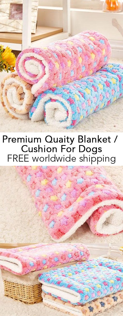 Premium Quality Blanket / Cushion For Dogs