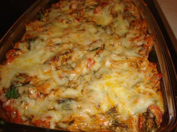 Bucataria cu noroc - Budinca de legume au gratin (budinca gratinata)