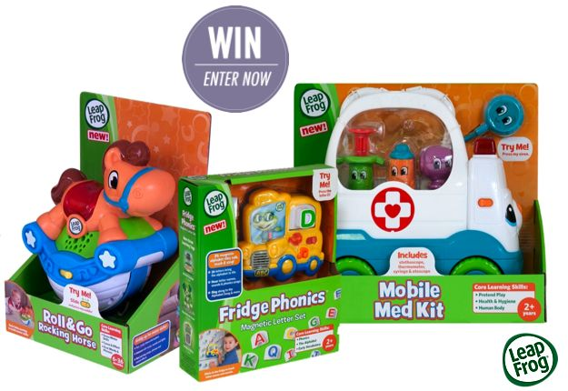 WIN 1 of 5 Learning Toys Prize Packs from LeapFrog