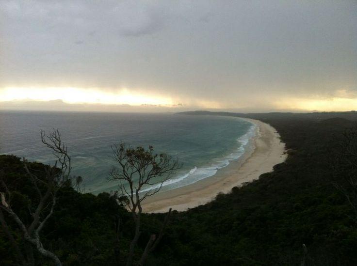 Rainy Byron Bay