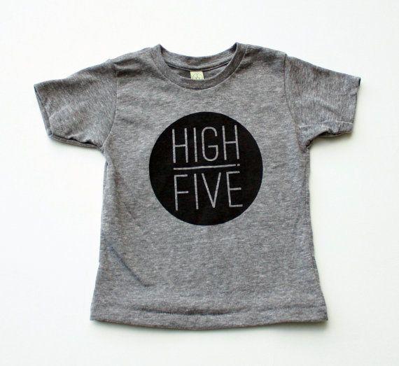 High Five - t-shirt enfant