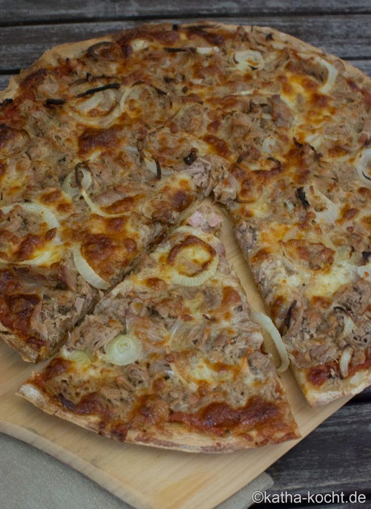Pizza Tonno - Katha-kocht!