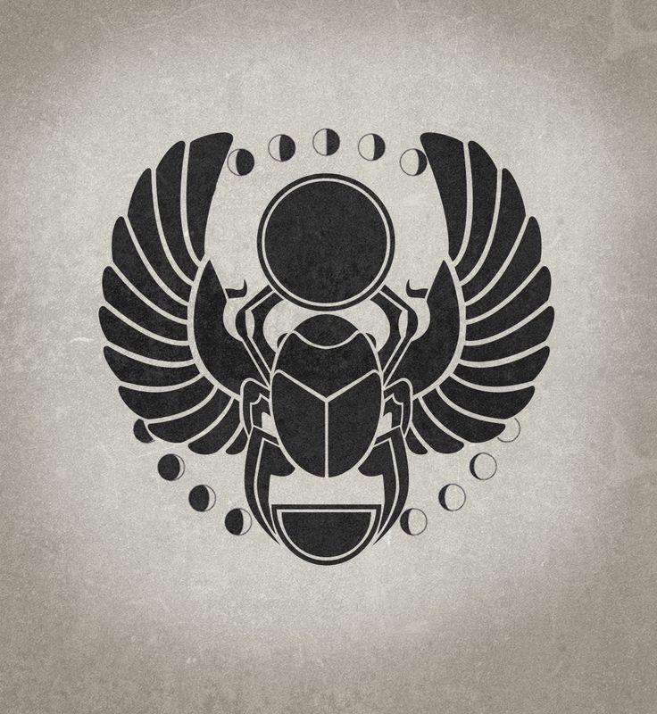Ingrained Design | Scarab Beetle