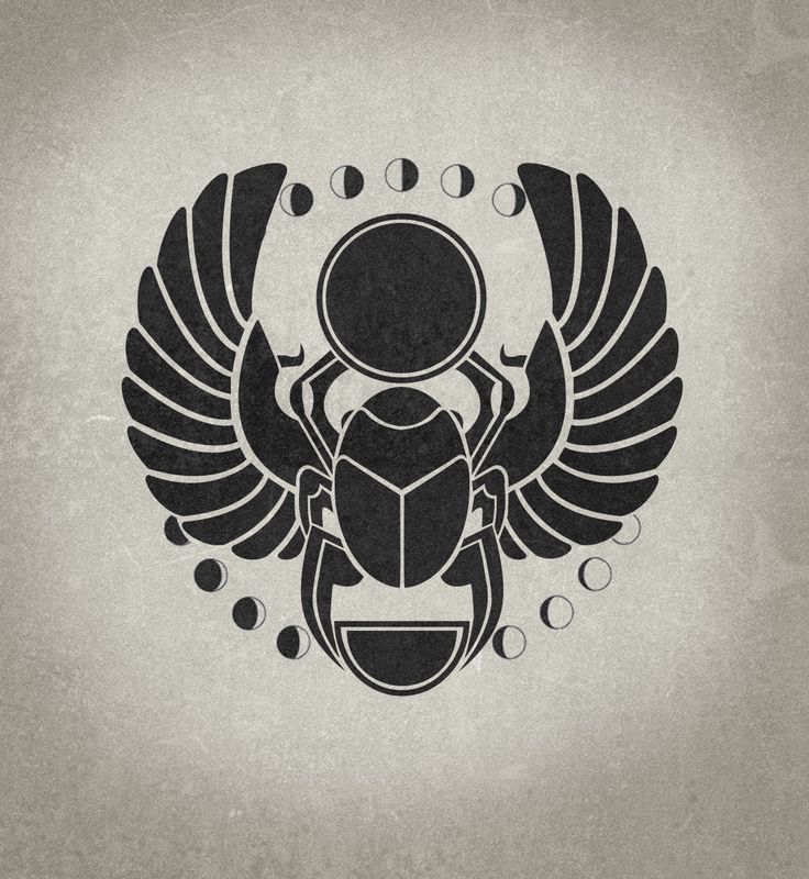 Ingrained Design | Scarab Beetle