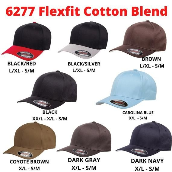 Dear Customer You Are Looking At 6277 Flexfit Hat Flexfit Brand Is One Of The Best In Hat Industry And Very Well Kno Flexfit Embroidered Hats Embroidery Logo