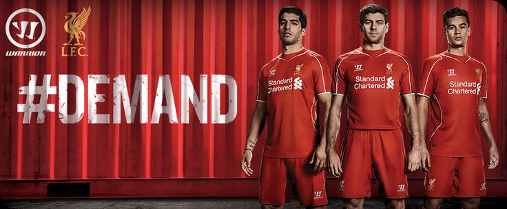 liverpool fc team kit launch
