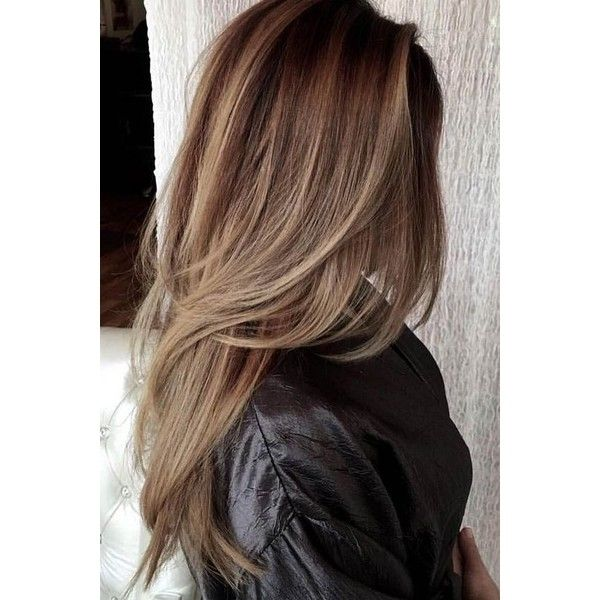 12 Fun and Stylish Long Haircuts for Long Layered Hair ❤ liked on Polyvore featuring accessories and hair accessories