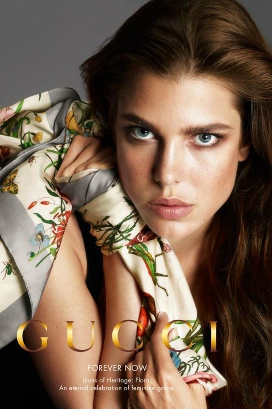 Charlotte Casiraghi for Gucci, accessories.
