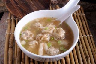 Soupe wonton au poulet ou dinde #recettesduqc