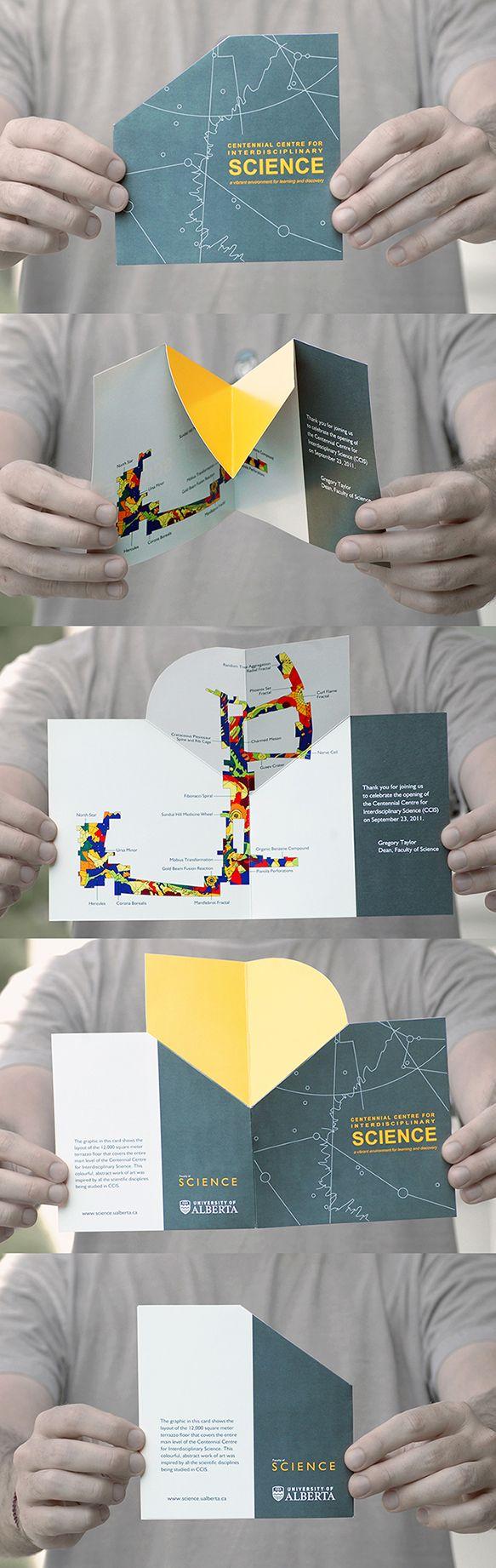 Pop-Up Brochure / 2011 on Behance