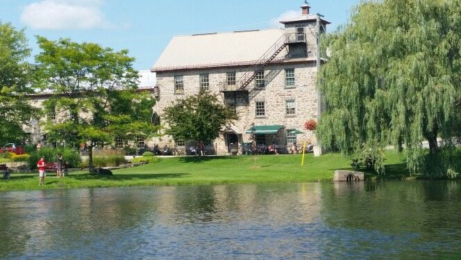 Historic Codes Mill 8n beautiful downtown Perth.  @perthontario #history #beautiful #amazing #hometown #perfection