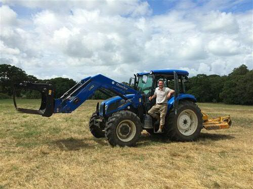 New TD5.95 for Quarr Abbey - C&O Tractors - New Holland Dealer, Tractors, Combine and Balers