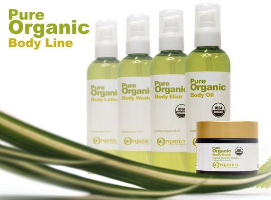 Dr J Organic's Body Range