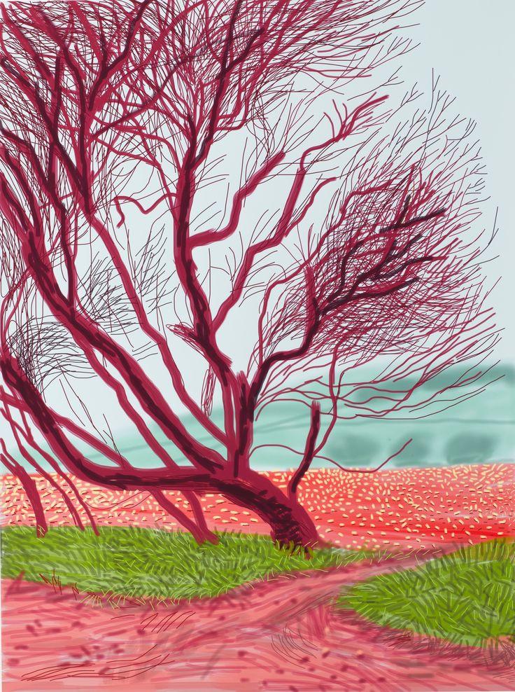 David Hockney: 'When I'm working, I feel like Picasso, I feel I'm 30'