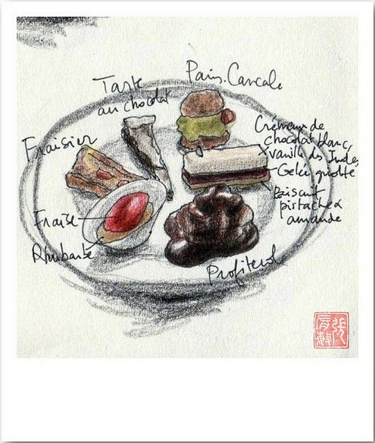 Le Coquillage (desserts) by Ming_à_Paris, via Flickr