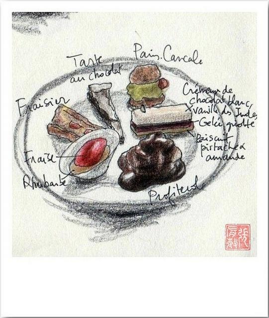 Le Coquillage (desserts) by Ming_à_Paris, via Flickr