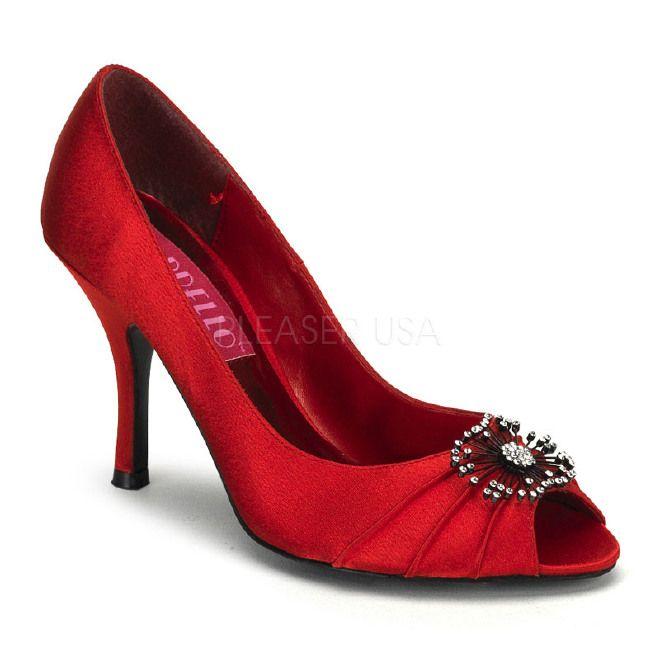 raffinatissime decollete' da cerimonia, rosse o rosa #shoes #fashion #women