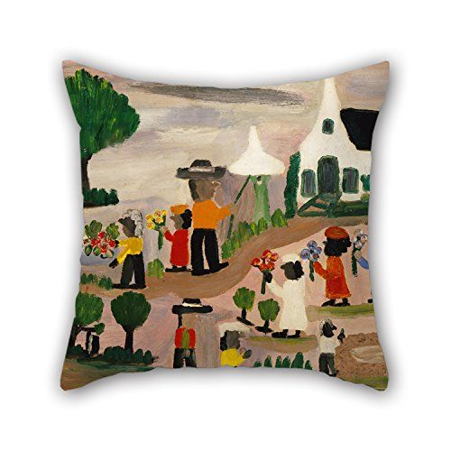 Amazon.com: Elegancebeauty Cushion Cases 16 X 16 Inches / 40 By 40 Cm(two Sides) Nice Choice For Chair,divan,bar Seat,husband,dinning Room,wife Oil Painting Clementine Hunter - Funeral Procession: Home & Kitchen